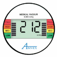 DIGITAL, VACUUM GAUGE by Amvex (Ohio Medical, LLC)