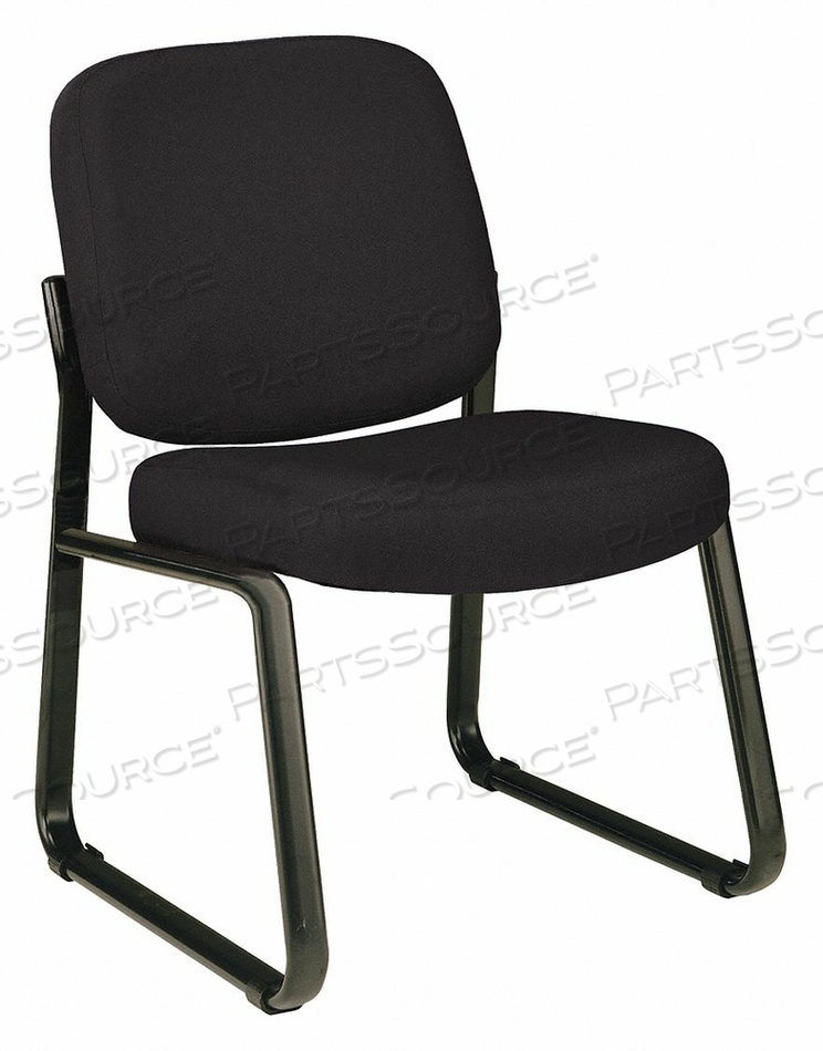 GUEST CHAIR BLACK FABRIC 250 LB CAPACITY by OFM Inc