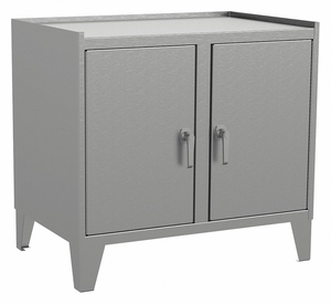 SHELVING CABINET 34 H 36 W GRAY by Jamco