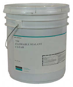 SEALANT SILICONE BASE CLEAR PAIL by Dow Corning