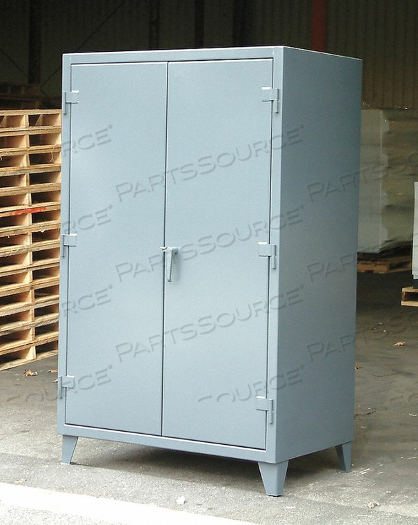 SHELVING CABINET 66 H 48 W DARK GRAY by Strong Hold