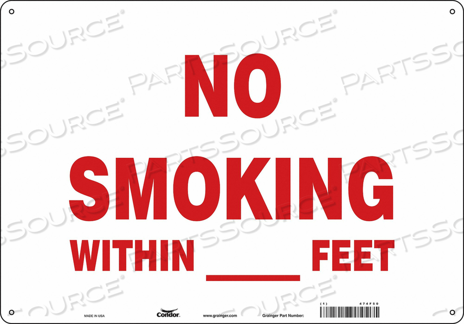 J7017 SAFETY SIGN 20 W 14 H 0.060 THICKNESS by Condor