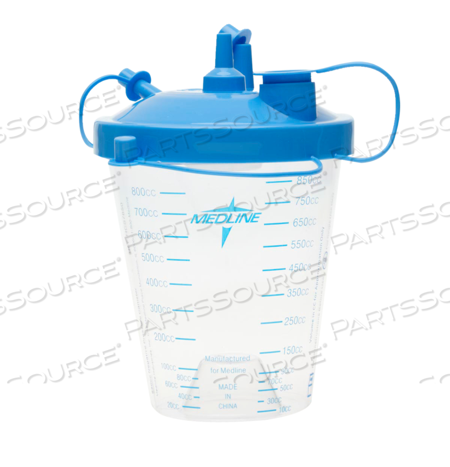 KIT,SUCTION CANISTER 850CC FLTR LID,TUB by Medline Industries, Inc.