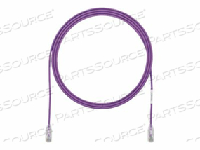 PANDUIT TX6-28 CATEGORY 6 PERFORMANCE - PATCH CABLE - RJ-45 (M) TO RJ-45 (M) - 8 FT - UTP - CAT 6 - IEEE 802.3AF/IEEE 802.3AT - BOOTED, HALOGEN-FREE, SNAGLESS, STRANDED - VIOLET - (QTY PER PACK: 25) by Panduit