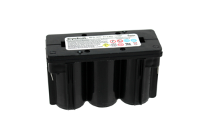 RECHARGEABLE BATTERY PACK, SEALED LEAD ACID, 6V, 2.5 AH by Life Fitness
