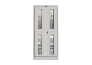SHELVING CABINET 78 H 36 W LIGHT GRAY by Hallowell