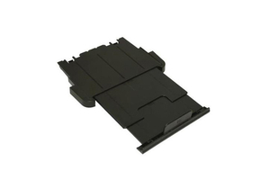 PRINTER OUTPUT PAPER TRAY EXTENSION, GRAY, 4 IN by HP (Hewlett-Packard)