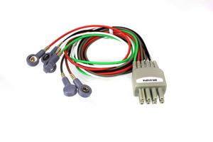 6 LEAD DIRECT CONNECT ECG LEADWIRE by Nihon Kohden America
