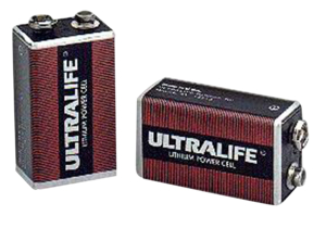 BATTERY, 9V, LITHIUM, 9V, 1200 MAH by Micropace