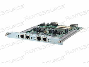 HPE - VOICE INTERFACE CARD - HALF HEIGHT MULTIFUNCTION INTERFACE MODULE (HMIM) - ANALOG PORTS: 4 - REMARKETED by HP (Hewlett-Packard)