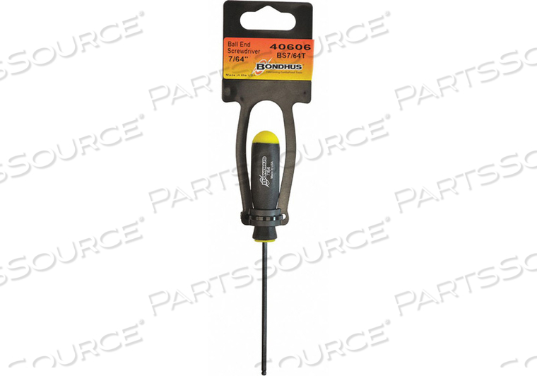 BALL END SCREWDRIVER-2.4IN .050IN by Bondhus