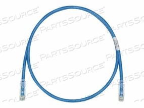 PANDUIT TX6 PLUS - PATCH CABLE - RJ-45 (M) TO RJ-45 (M) - 75 FT - UTP - CAT 6 - IEEE 802.3AT - STRANDED, SNAGLESS, HALOGEN-FREE, BOOTED - BLUE by Panduit