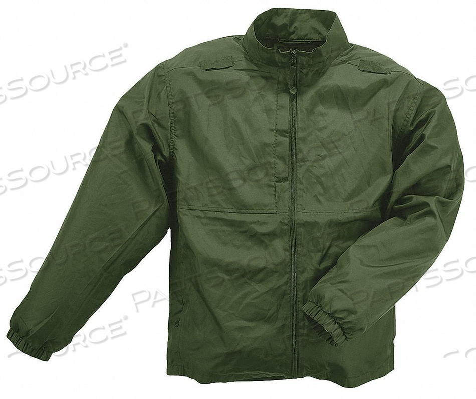 PACKABLE JACKET SIZE L SHERIFF GRN by 5.11 Tactical