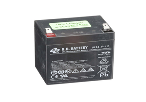 BATTERY, SEALED LEAD ACID, 12V, 4.5 AH, FASTON by Hillrom
