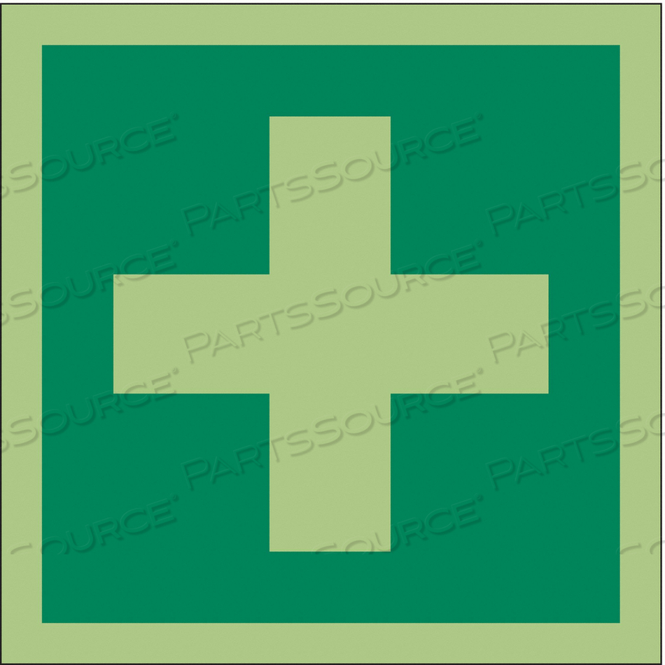 SAFETY SIGN 6 W 6 H 0.011 THICKNESS by Condor
