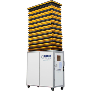 BIO CART 13LT HEPA + UVG MOBILE DUST CONTAINMENT UNIT by Aircare