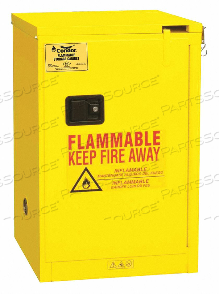 FLAMMABLE LIQUID SAFETY CABINET 23-3/8 by Condor