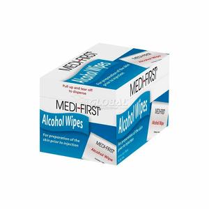 "ALCOHOL PREP PADS, 1"" X 2 1/2""PAD, 50/BOX by Medique"
