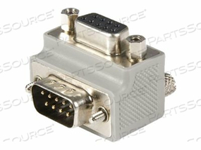 STARTECH.COM RIGHT ANGLE DB9 TO DB9 SERIAL CABLE ADAPTER TYPE 2 - M/F - SERIAL ADAPTER - DB-9 (M) TO DB-9 (F) - 90 DEGREE CONNECTOR - GRAY - FOR P/N: ICUSB232DB25, ICUSB232INT1 by StarTech.com Ltd.