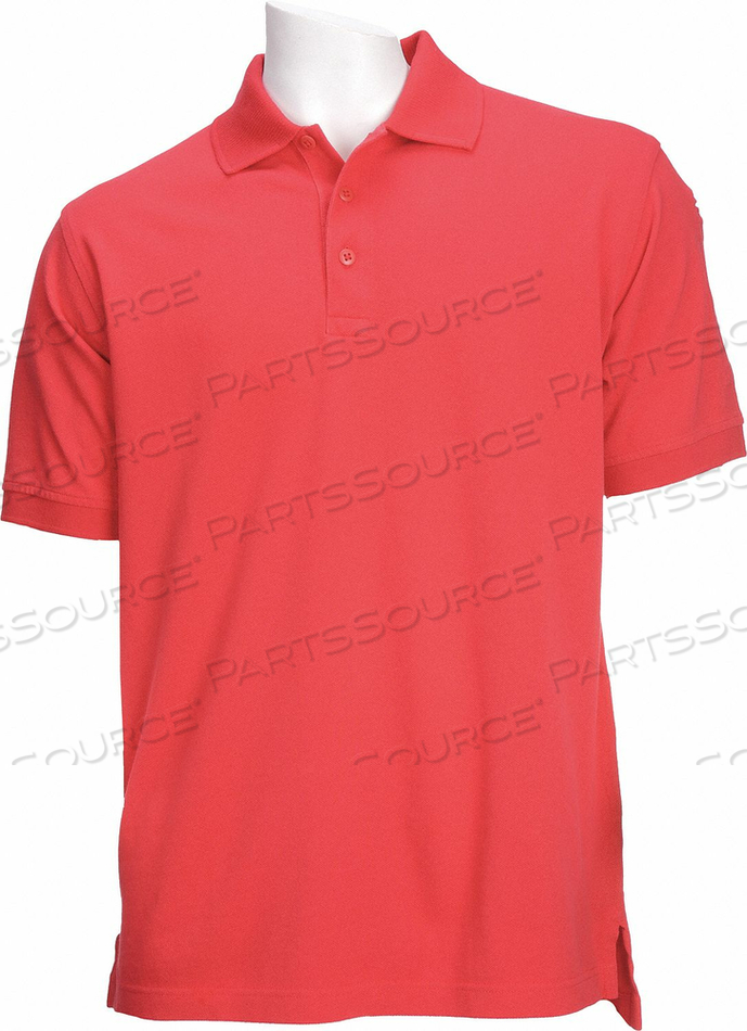 D4693 PROFESSIONAL POLO RANGE RED 2XL by 5.11 Tactical