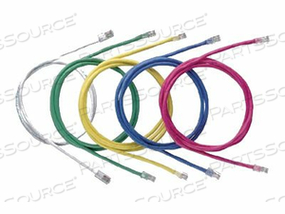 PANDUIT NETKEY - PATCH CABLE - RJ-45 (M) TO RJ-45 (M) - 3 FT - UTP - CAT 5E - YELLOW by Panduit
