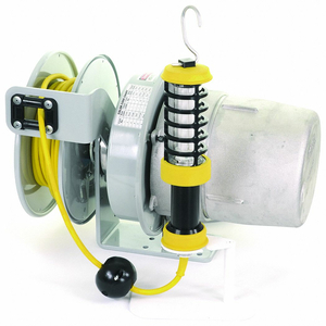 CORD REEL W/LAMP FLUO 50FT 16AWG 125VAC by KH Industries