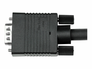 25 FT COAX HIGH RESOLUTION MONITOR VGA CABLE - HD15 M/M - VGA CABLE - HD-15 (M) TO HD-15 (M) - 25 FT - MOLDED - BLACK by StarTech.com Ltd.
