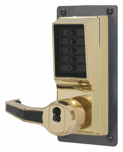 PUSH BUTTON LOCKSET 1000 RIGHT LEVER by Kaba