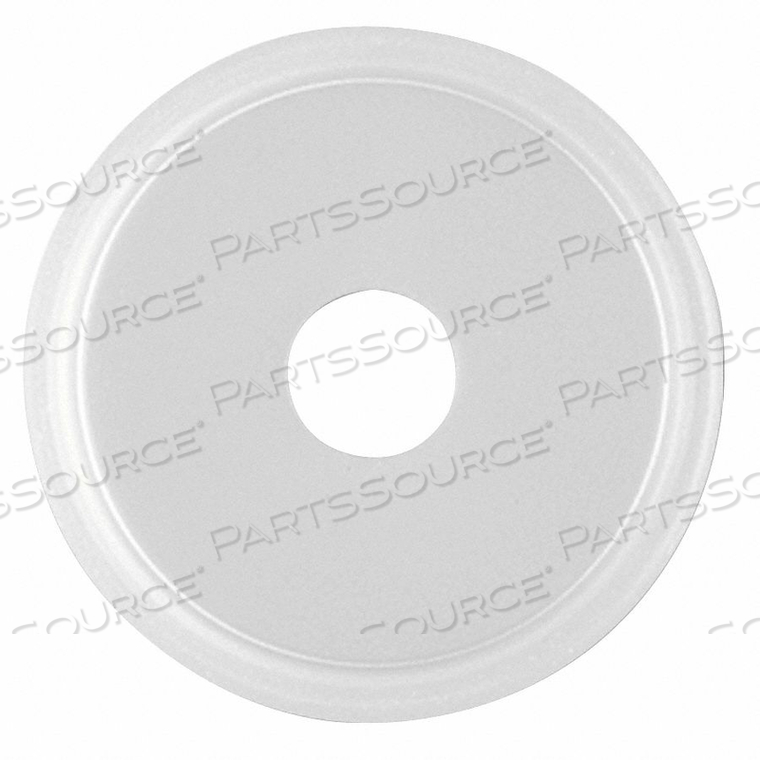 GASKET SIZE 4 IN TRI-CLAMP SILICONE by Rubberfab