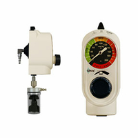 VACUUM REGULATOR, LOCKING GLAND X 90 DEG TUBING NIPPLE, 0 TO 160 MMHG, MEETS ANSI by Ohio Medical, LLC