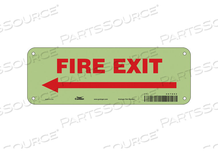 SAFETY SIGN 3.5 X10 PLASTIC by Condor
