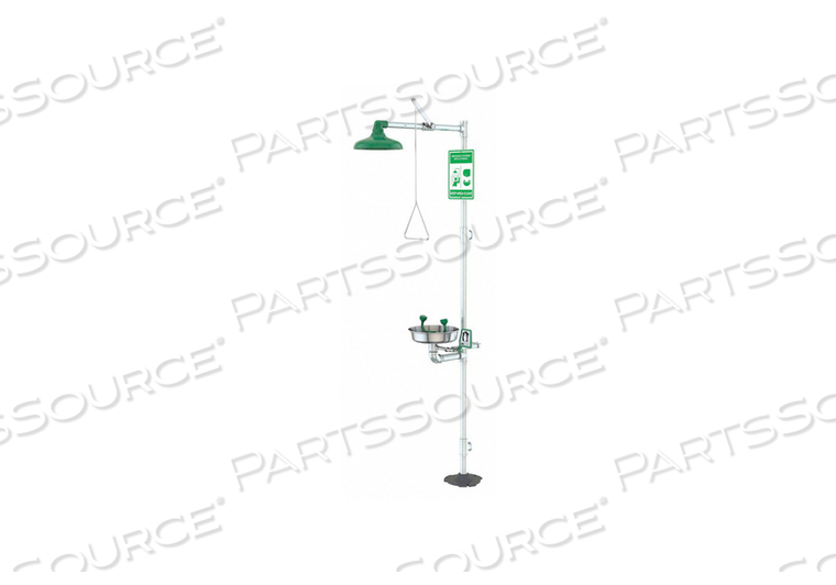DRENCH SHOWER GREEN SS 94-3/4 IN H by Condor