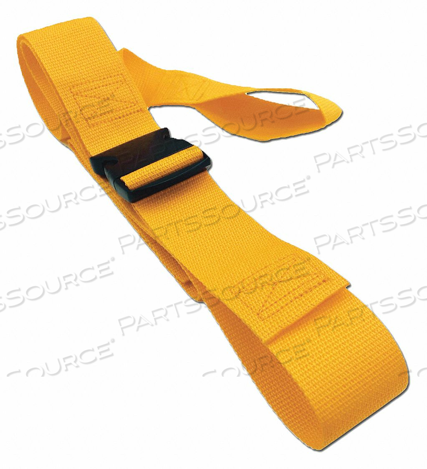 STRAP YELLOW 7 FT L by Disaster Management Systems (DMS)