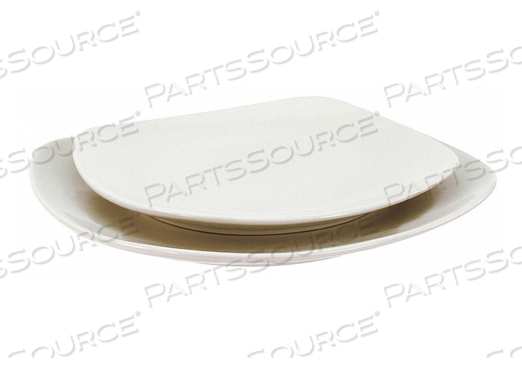 SQUARE PLATE 10 IN. BRIGHT WHITE PK12 by Crestware