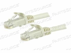 STARTECH.COM GIGABIT SNAGLESS RJ45 UTP CAT6 PATCH CABLE CORD - PATCH CABLE - RJ-45 (M) TO RJ-45 (M) - 7 FT - UTP - CAT 6 - MOLDED, SNAGLESS - WHITE by StarTech.com Ltd.