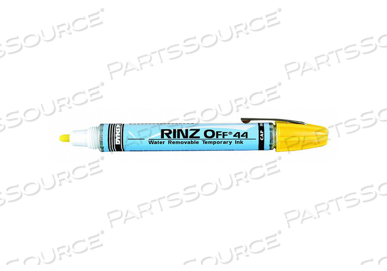 PAINT MARKER REMOVABLE YELLOW by Dykem
