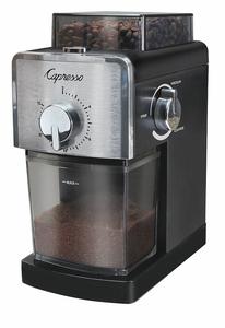 COFFEE GRINDER BLACK CAPACITY 0.5 LB. by Capresso