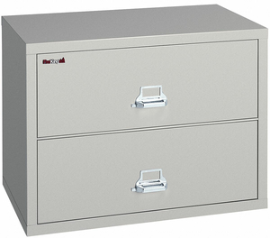 LATERAL FILE 2 DRAWER 37-1/2 IN W by Fire King