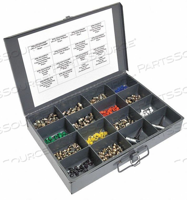 GREASE FITTING KIT GENERAL ASSORTMENT by Kingfisher