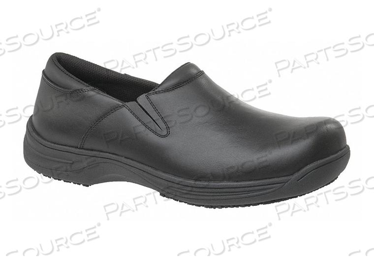 K2672 LOAFER SHOE 7-1/2 WIDE BLACK PLAIN PR by Genuine Grip