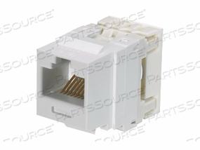 PANDUIT NETKEY - MODULAR INSERT - RJ-45 - ELECTRIC IVORY (QTY PER PACK: 25) by Panduit
