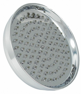 SHOWER HEAD POLISHED CHROME 8 IN DIA by Trident