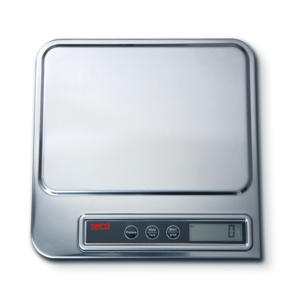 DIGITAL ORGAN AND DIAPER SCALE WITH STAINLESS STEEL COVER, 11 LB/5 KG by Seca Corp.