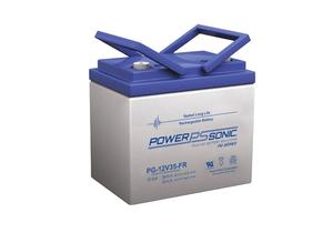 BATTERY, SEALED LEAD ACID, 12V, 36 AH, THREADED POST by R&D Batteries, Inc.
