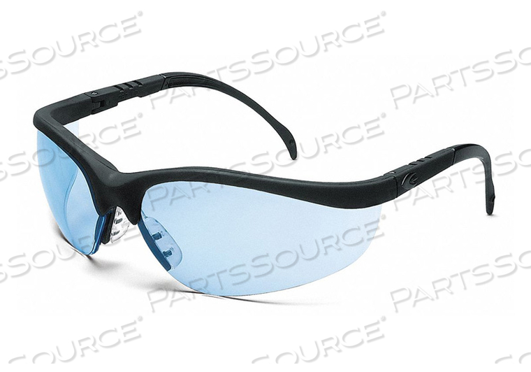 SAFETY GLASSES LIGHT BLUE SCRATCH-RESIST by Condor