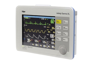 INFINITY GAMMA XL PHYSIOLOGICAL MONITOR REPAIR by Draeger Inc.