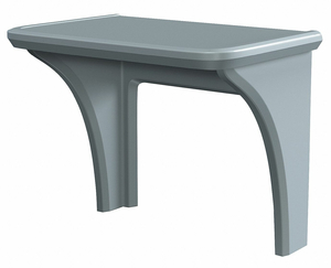 INSTITUTIONAL DESK 36 X 29 X 24 IN BLACK by Cortech