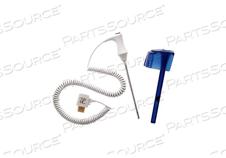 WELL KIT TEMPERATURE PROBE, 4 FT, BLUE by Welch Allyn Inc.