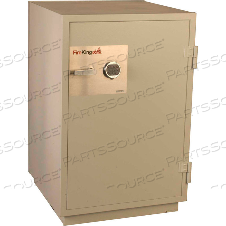 DATA SAFE DM3420-3, 3-HOUR FIRE/IMPACT RATING 32-1/16 X 31 X 49-1/16 PLATINUM FINISH by Fire King