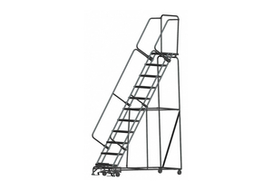 LOCKSTEP ROLLING LADDER STEEL 110 IN.H by Ballymore